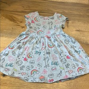 Emoji dress from The Children's Company.